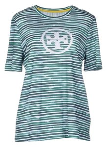 Tory Burch T Shirt green stripe