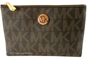 Michael Kors Michael Kors Fulton Travel Makeup Cosmetic Case
