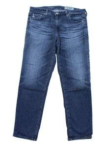 AG Adriano Goldschmied Prima Mid-rise 30 Crop Skinny Jeans-Medium Wash
