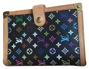 Louis Vuitton Discontinued Louis Vuitton Black Multicolor Agenda PM
