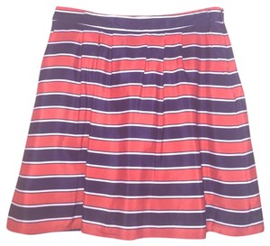 J.Crew Mini Skirt Red, White, Blue