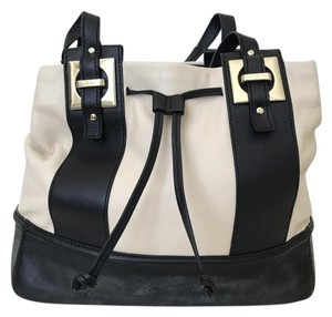 Kate Spade Drawstring Leather Spacious Shoulder Bag