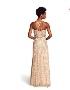 Adrianna Papell Beaded Gown Sparkle Dress