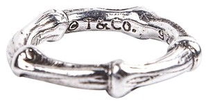 Tiffany & Co. Tiffany & Co Sterling Silver Bamboo Ring