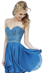 Sherri Hill Homecoming Cocktail Strapless Dress