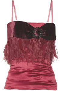 Dolce&Gabbana Silk Top Red