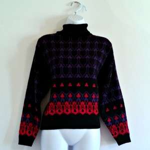 Other Turtleneck Cowl Vintage 80s 1980s Sweater