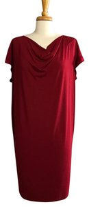 Eileen Fisher short dress Crimson on Tradesy