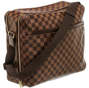 Louis Vuitton Monogram Damier Canvas Messenger Brown Messenger Bag