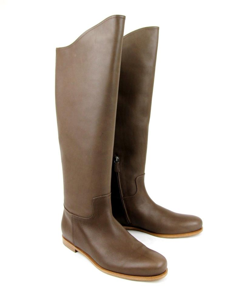 Bottega 38/ Veneta Brown New Leather Tall It 38/ Bottega 8 297865 2515 Boots/Booties 91c83c