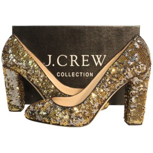 J.Crew Collection Leopard Sequins Pumps