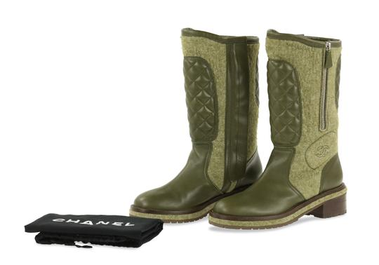 Chanel Green Boots Image 10