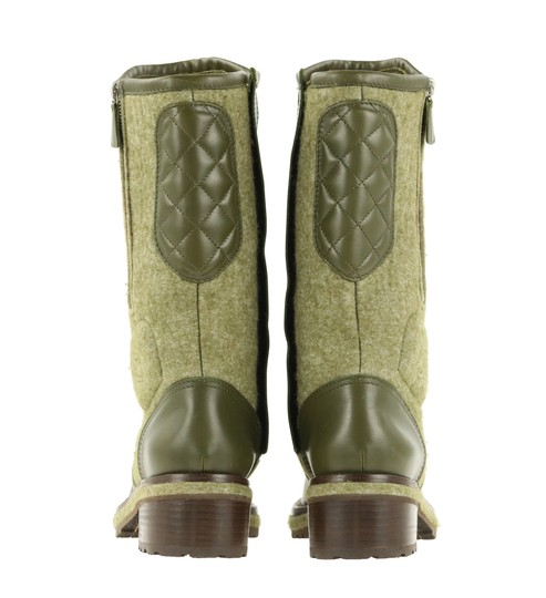 Chanel Green Boots Image 2