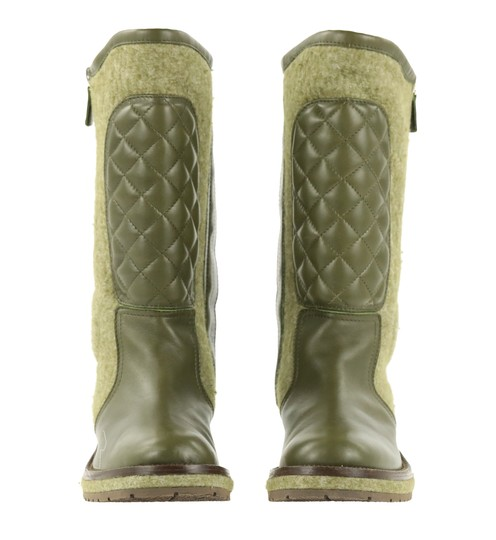 Chanel Green Boots Image 4