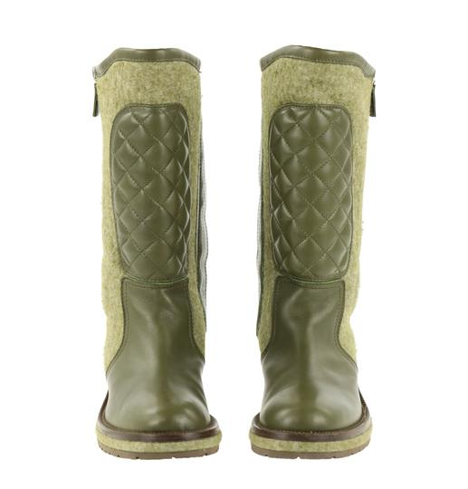 Chanel Green Boots Image 5