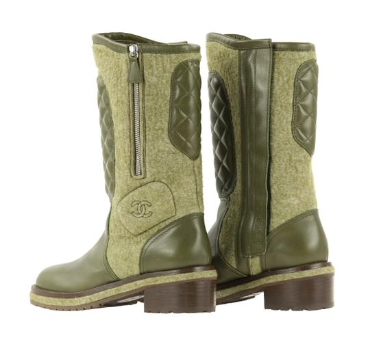 Chanel Green Boots Image 6
