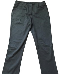 Theory Boot Cut Pants Dark olive