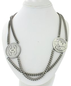 Chanel Authentic Chanel Classic Rue Cambon No 51 Coin Necklace 40 inch