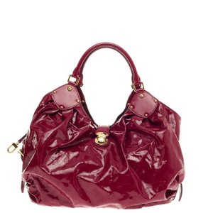 Louis Vuitton Leather Hobo Bag