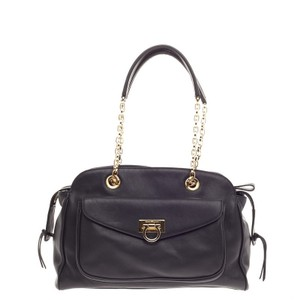 Salvatore Ferragamo Satchel in Black