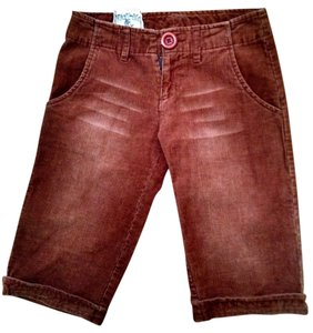 Nick & Mo & Low Rise Corduroy Size 0/24 Cuffed Size 0 Size 24 P1233 Bermuda Shorts brown