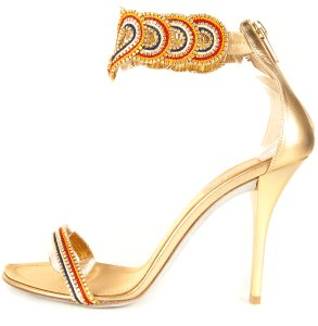 Rene Caovilla Multi Color Sandals