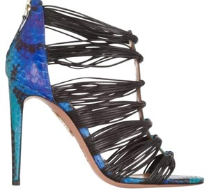Aquazzura Blue Multicolor Formal