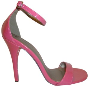 Michael Antonio Nwt Patent Leather Pink Sandals