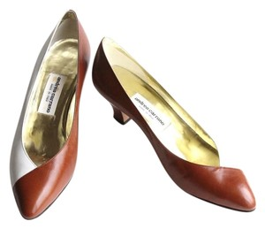 Andréa Candela Andrea Carrano Brown Pumps
