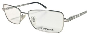 Versace Versace Eyeglasses Optical Frame Silver With Crystals