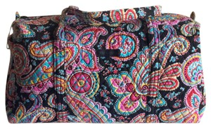 Vera Bradley Overnight Parisian Paisley Travel Bag