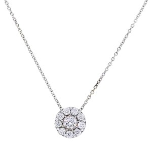 Hearts on Fire Hearts On Fire 1.50ctw Diamond 18k White Gold Necklace