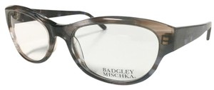 Badgley Mischka Badgley Mischka Crystal Blue Brown Women's Eyeglasses