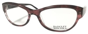 Badgley Mischka Badgley Mischka Crystal Burgundy Women's Eyeglasses
