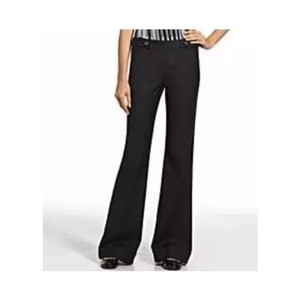 Tory Burch Wide Leg Pants Black