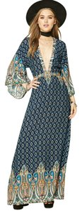 Multi color Maxi Dress by Forever 21