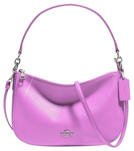 Coach Classic Two Way Leather Cross Body Bag