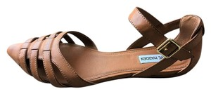 Steve Madden Leather Brown Sandals