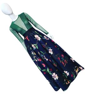 Gracia Maxi Skirt Navy