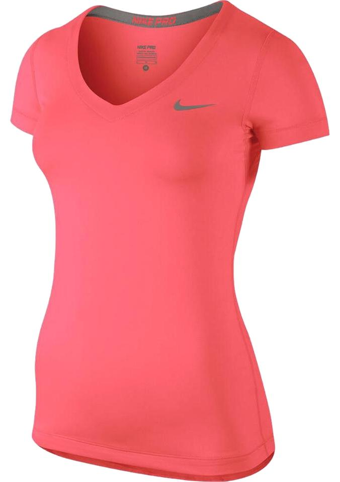 quality design d7996 5e345 Nike Nike Pro Dri-fit Fitted Women s Training Running Athletic T-shirt Image