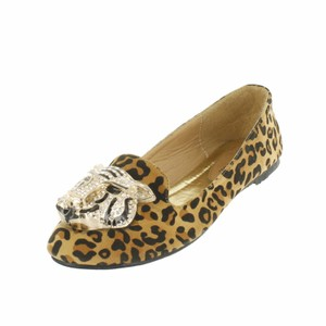 Red Circle Footwear Leopard Flats