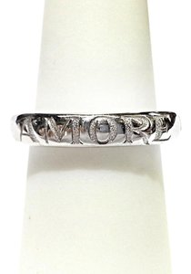 Amore AMORE 18K White Gold Ring Band