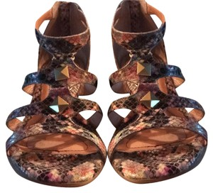 Sfft Snakeskin, multi-colored Sandals