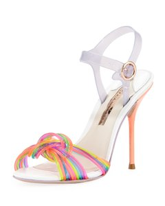 Sophia Webster Jelly Ankle Strap Multi Colored Sandals