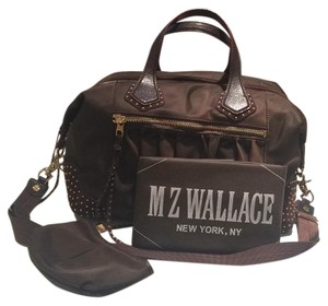 M Z Wallace Satchel in Chocolate Brown