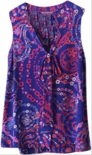 Preload https://item5.tradesy.com/images/lilly-pulitzer-blue-blouse-size-6-s-1986969-0-0.jpg?width=400&height=650
