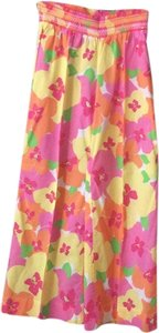 Lilly Pulitzer Baggy Pants Pink, yellow