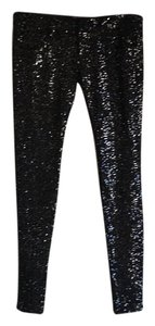 Frankie B Skinny Pants Black Sequence