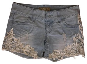 Guess Cut Off Shorts Light denim