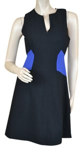 Rebecca Taylor Colorblock Fit And Flare Dress